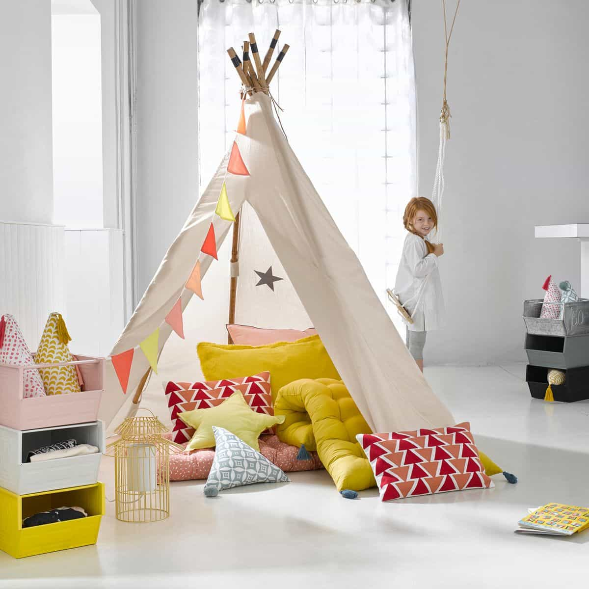 diy mon cozy tipi animation pour enfants. Black Bedroom Furniture Sets. Home Design Ideas